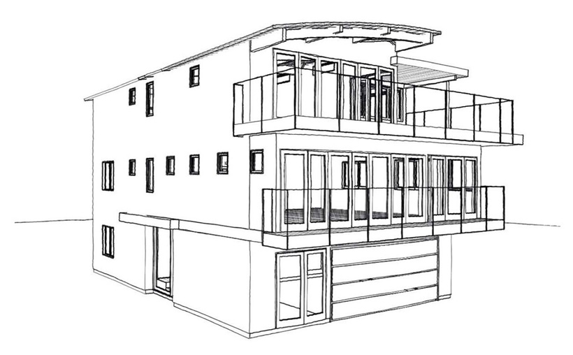 3rd Story Addition & Remodel, ENRarchitects, Silver Strand Beach, Oxnard, CA