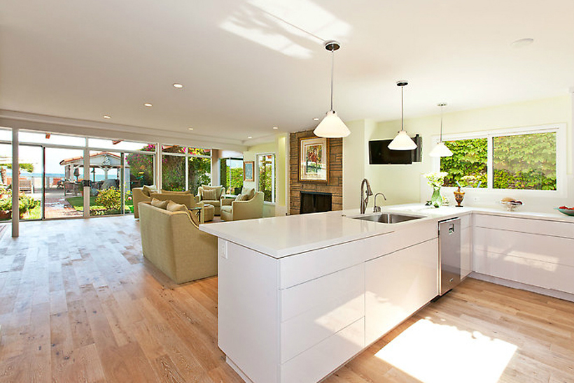 1st Floor and Kitchen Remodel, ENRarchitects, Malibu, CA - HOUZZ