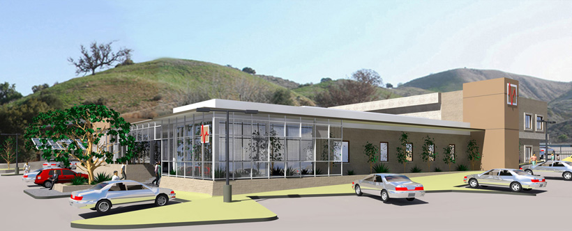 Medical Lease Facility CAD Rendering - ENRarchitects - Calabasas, CA