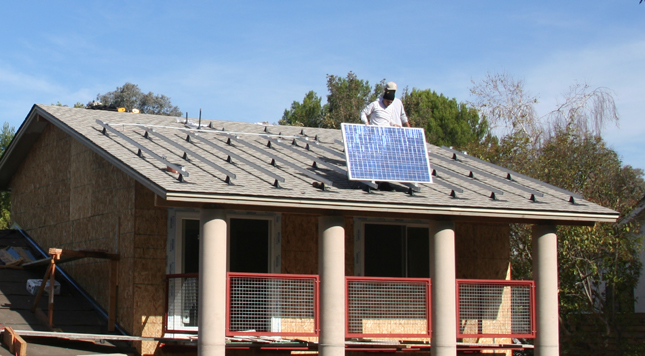 Green Home Addition, Remodel-Landscape, Solar Electric-WaterHeating - ENRarchitects, Thousand Oaks, CA