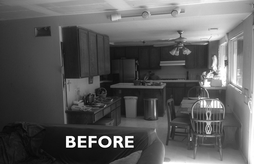 Kitchen Interior, BEFORE, Thousand Oaks, CA 91360