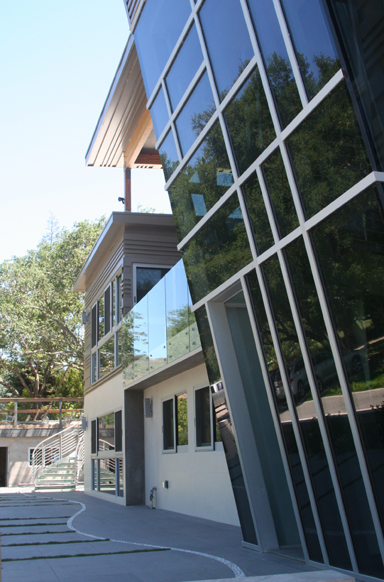 Lakeside Addition & Wholehouse Remodel, ENR architects, Lake Sherwood, CA 91361 - Stair Tower