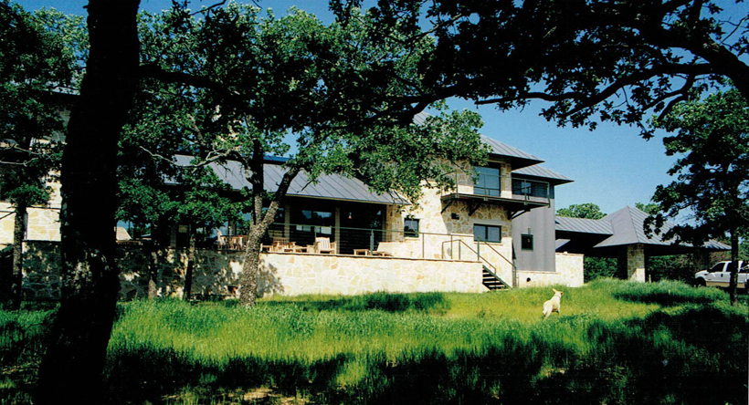 Ranch House, ENR architects with Frank D. Welch Associates, Montague County, TX 76255 - HOUZZ