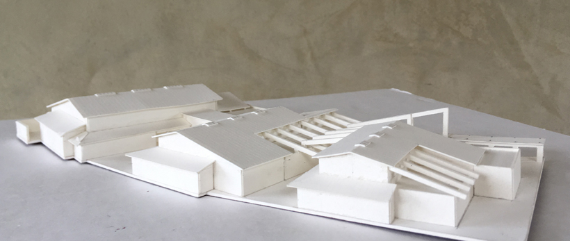 Northgate Senior & Community Center, ENR architects with G4 Architects, Fremont, CA 94555 - Concept Study Model