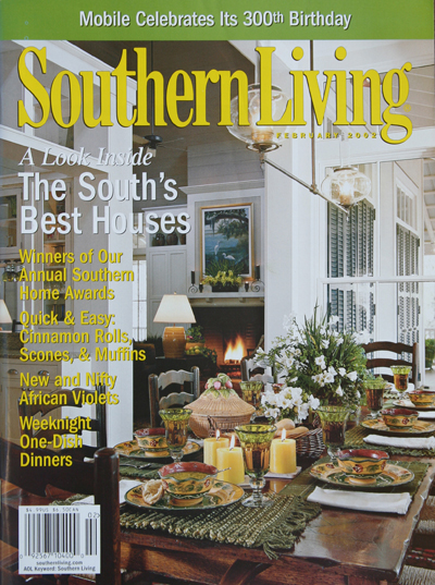 Frank D. Welch, Dallas, TX - publications - Southern Home Awards - The South's Best Homes - Feb 2002