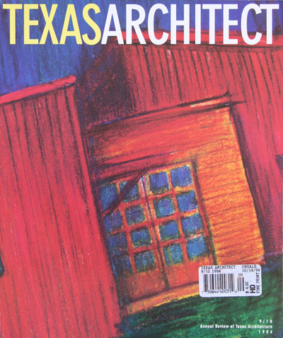 Frank D. Welch, Dallas, TX - publications - Texas Architect Sep 1994