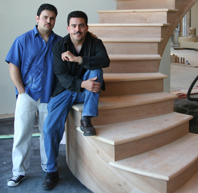San Carlos Stairs Fabrication Showroom, ENRarchitects with LBL Architects, Redwood City, CA - Showroom & Owners