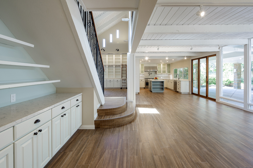 Family Room, 2-Story Wholehouse Remodel, Patio & Landscape, Westlake Village, CA